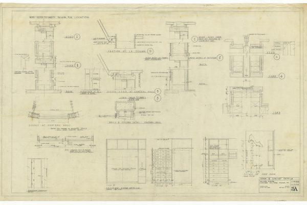 Door and Cabinet Schedule and Details Door and Cabinet Schedule and Details credit: Craig Foster